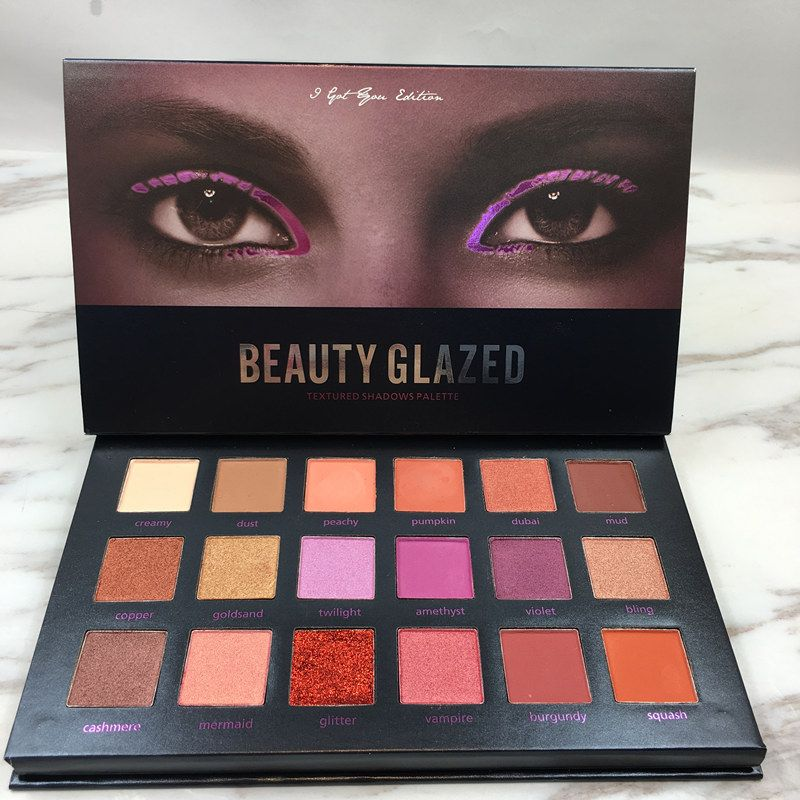 Eye Shadow Back To Search Resultsbeauty & Health Beauty Glazed 9 Color Makeup Eyeshadow Pallete Makeup Brushes Make Up Palette Nude Pigmented Eye Shadow Palette Maquillage Kit Wide Varieties