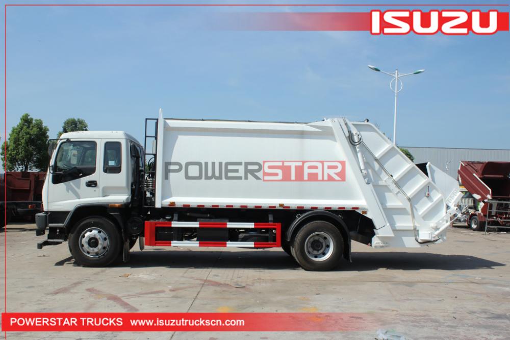 Mongolia Isuzu Ftr Fvr Compactor Refuse Truck 240hp Compressed Garbage Truck Trucks Compactor Trucks For Sale