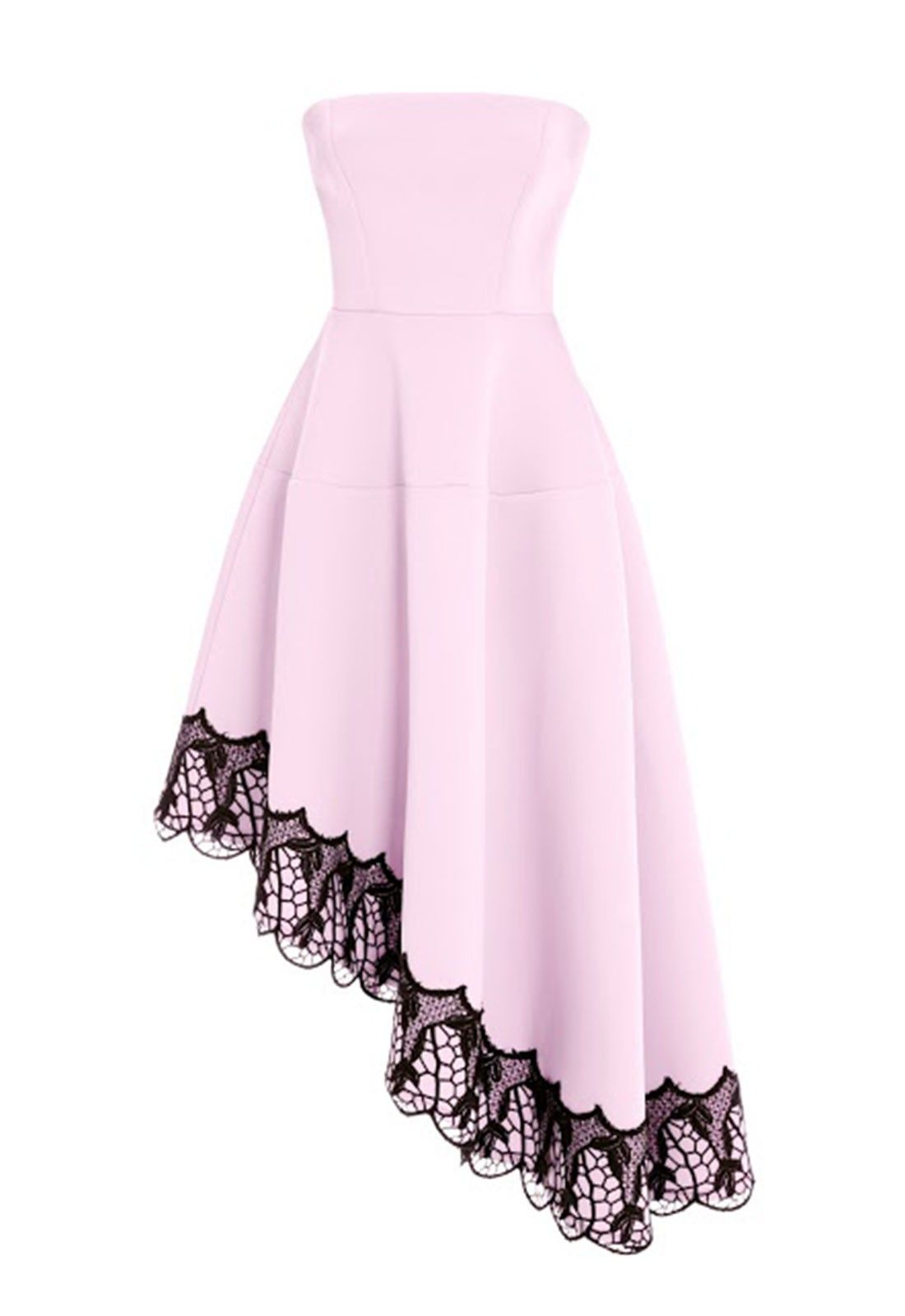 This elegant dress is a perfect option for the races or prom and has