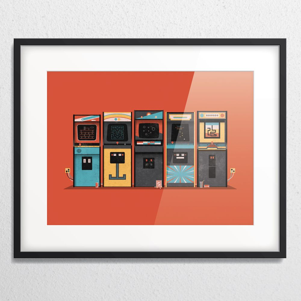 DKNG » Store » Arcade (Framed)