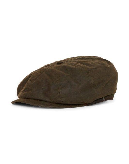 cb508460cc1 Barbour Guillemot Bakerboy Hat Green