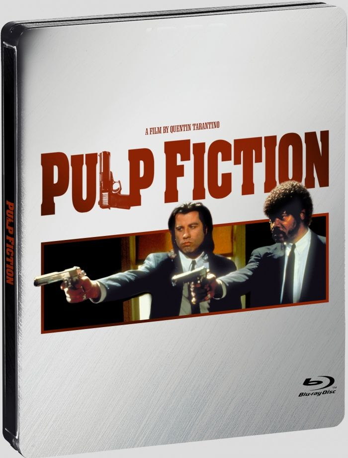 Available Now Pulp Fiction Blu Ray Steelbook
