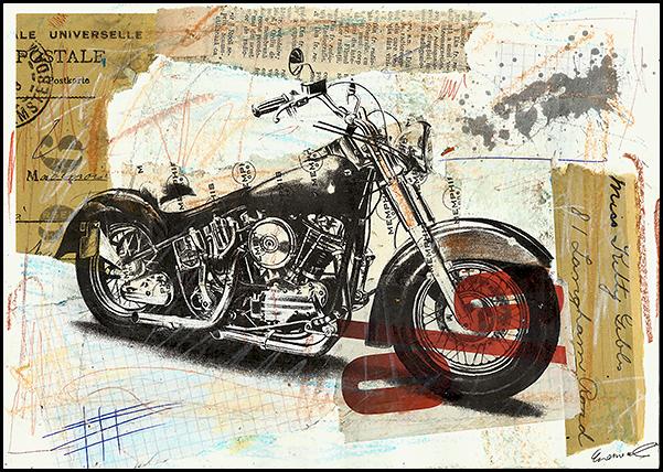 Harley Davidson Modern Art Abstract Modern Art Paintings Abstract Modern Abstract Art Geometric