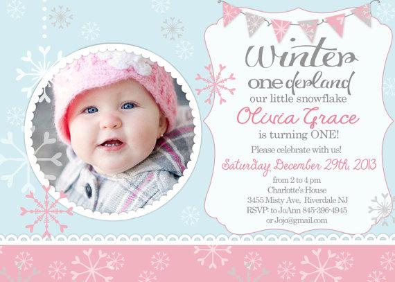 winter onederland winter first birthday invitation winter