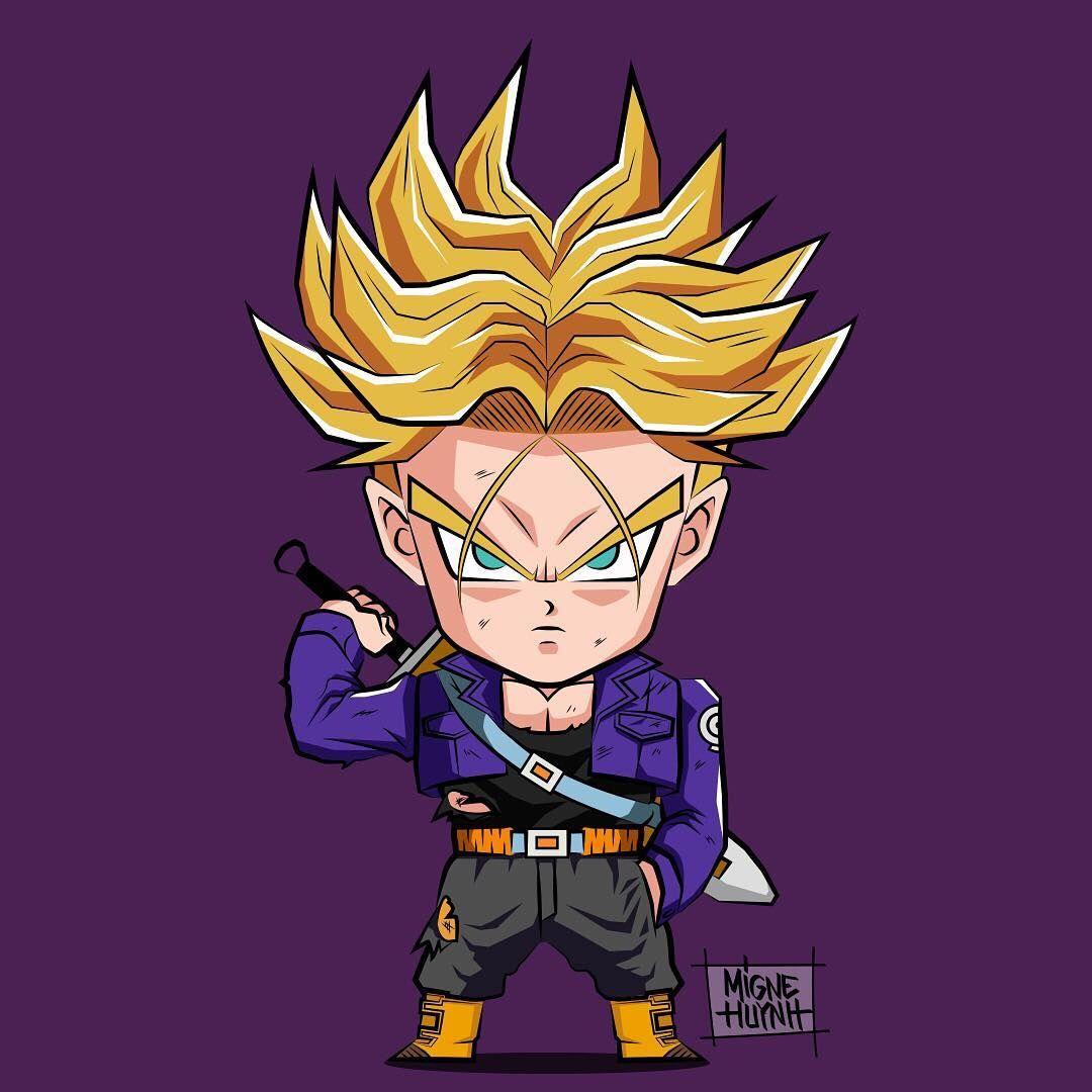 Goku Ultra Instinct Wallpaper Iphone X Evolution Of Mirai Trunks🗡 🕓🔥💥 Trunks Miraitrunks Dbz