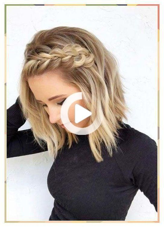 28 Short Prom Hairstyles - Simple Hairstyle #hair styles women #hairstyle #hairstyles #hairstyles