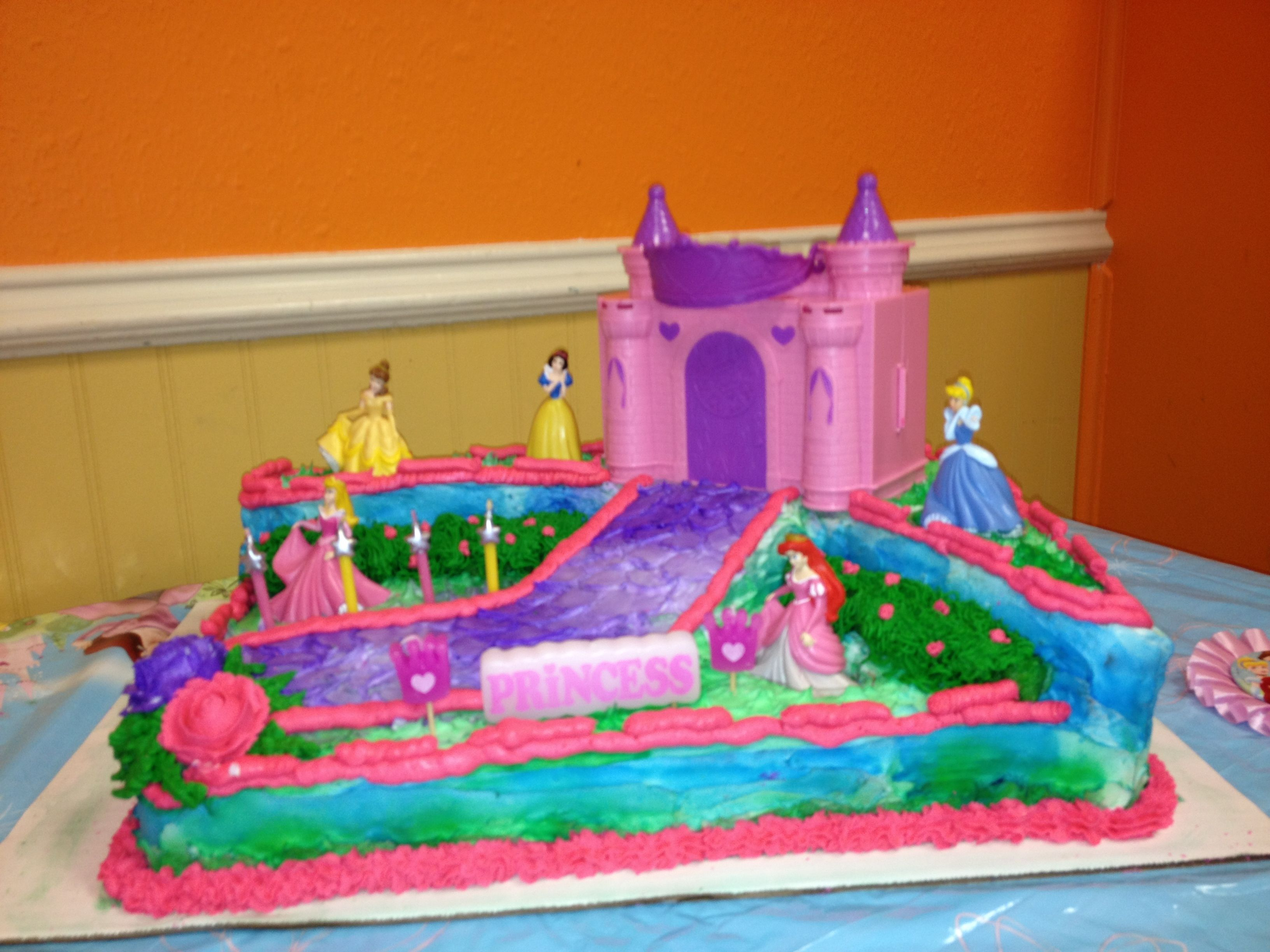 My baby girls 4th birthday cake Kyndal Pinterest Birthday