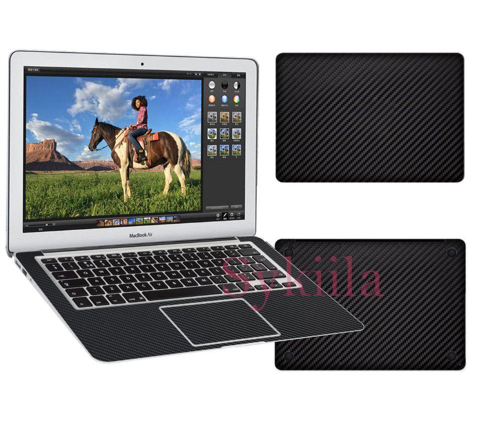 best authentic a6633 6357e Carbon Fiber Sticker Full Texture Skin for apple Macbook Pro 13 ...