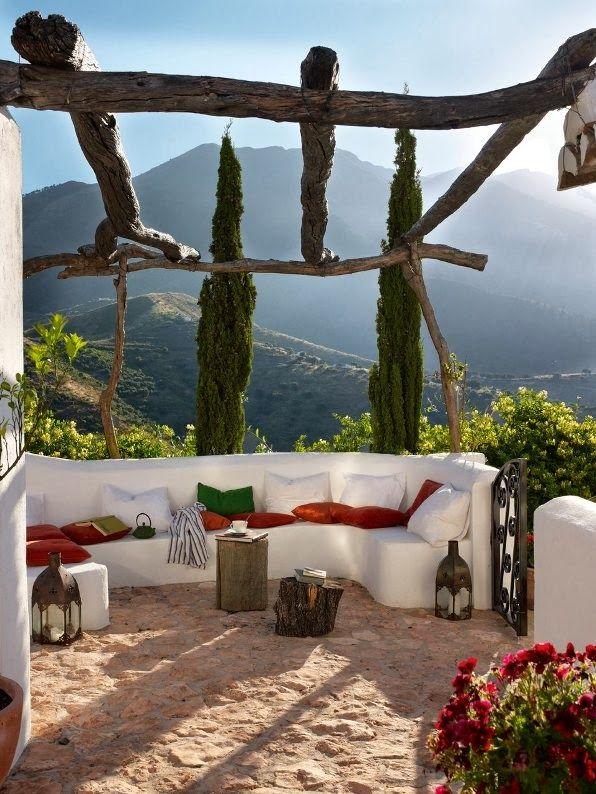 Terraza con encanto terrazas y jardines jardines for Jardines con encanto fotos