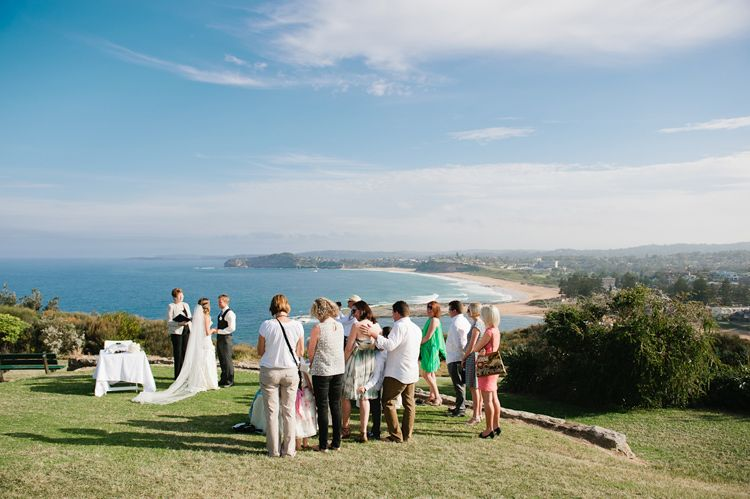Amazing Mona Vale Headland Wedding Ceremony Sydney Northern Beaches Wedding