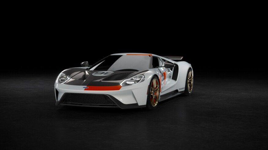 Latest Ford Gt Heritage Edition Celebrates The Original Gt S 1966 Daytona Win Ford Gt Ford Ford Gt 1966