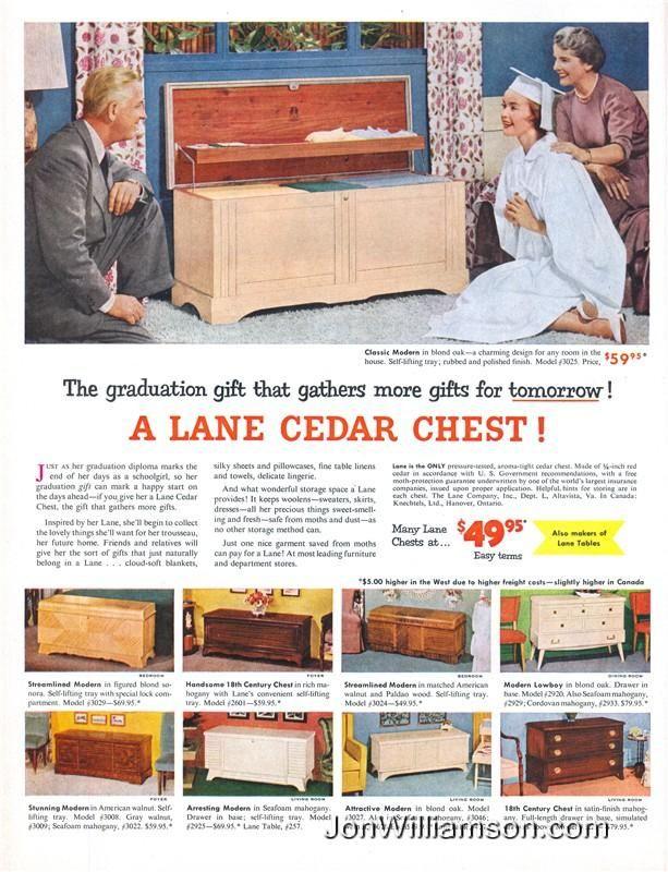 Lane Cedar Chest 19540503 Life Cedar Chest Hope Chests Chest