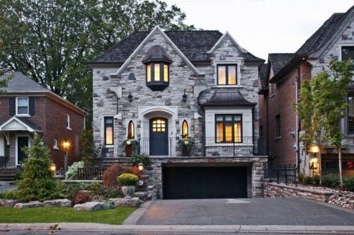 House Exterior Gorgeous Grey Stone Amazing Houses