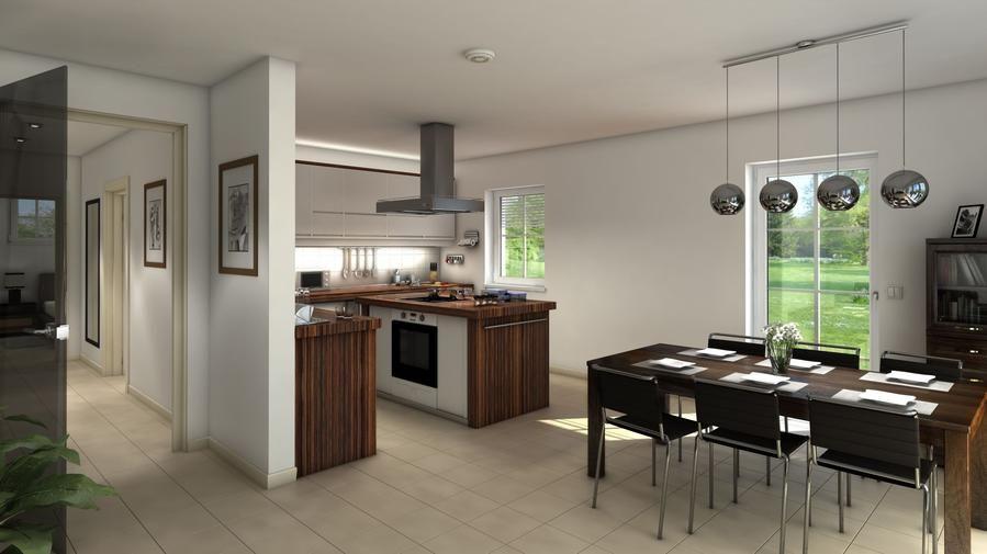 Bildergebnis für offene küche grundriss