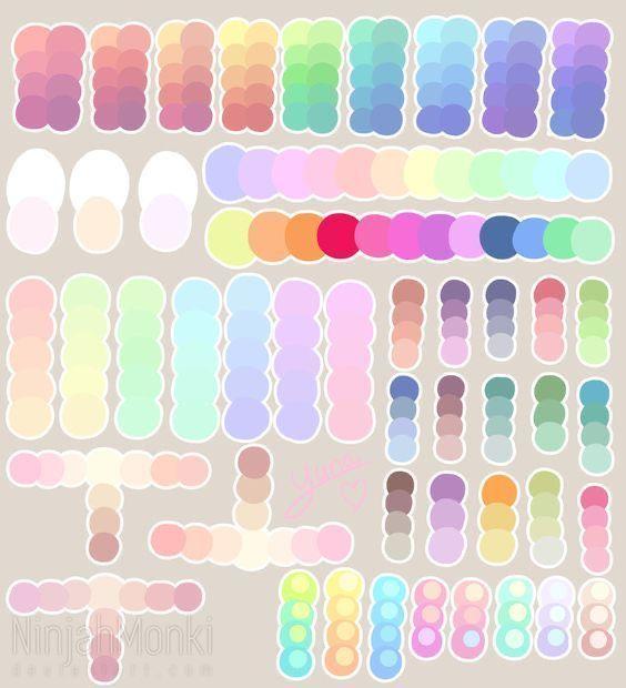 ⛓ art stuff¡! - 🔗• Paletas de colores 1.