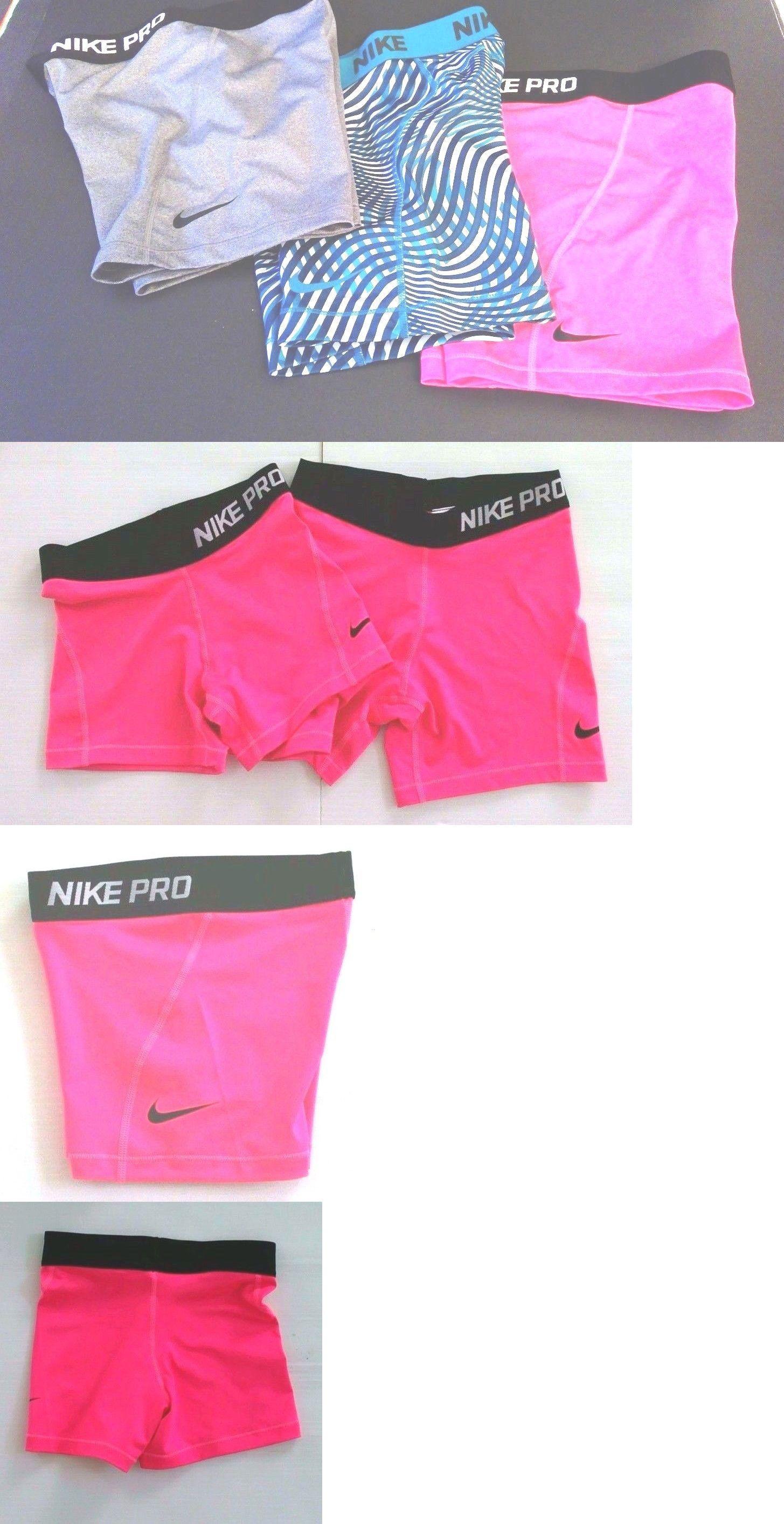 0e37f60ee2e6c Shorts 15648: Girls Size Xs,L,Xl Nike Pro Dri Fit Running ...