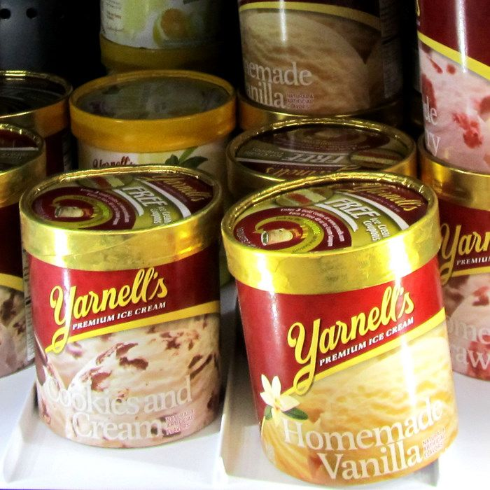 Yarnell's Ice Cream has been a mainstay of Arkansas food culture.  The family closed the factory in June 2011, but a new company has come in and purchased the plant, and Yarnell's is expected to return to store shelves by summer 2012.