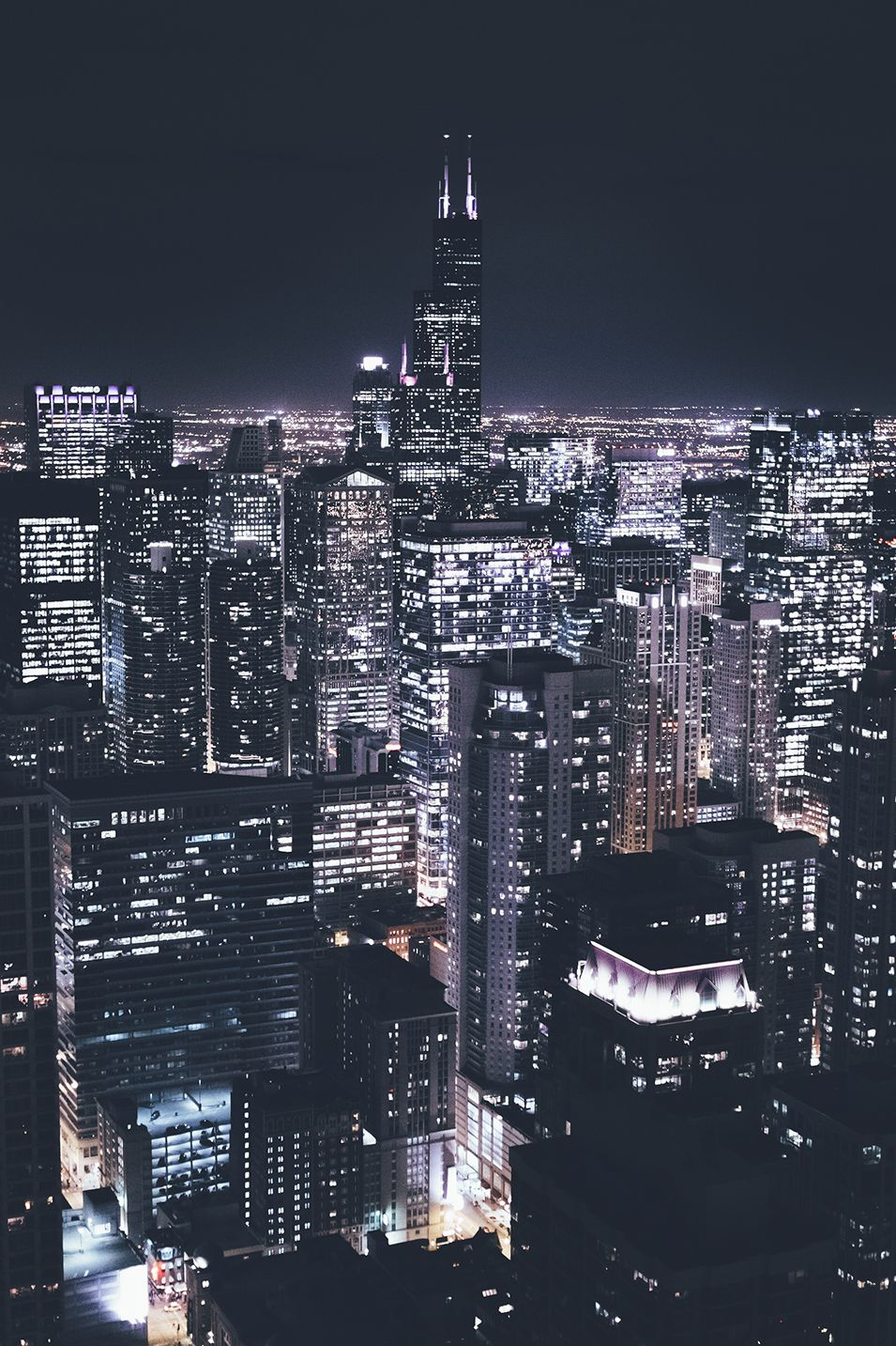 My Great Escape New York Iphone Wallpaper City Lights Tumblr City Lights At Night