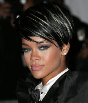 Image result for blonde highlights on short black hair image result for blonde highlights on short black hair pmusecretfo Image collections
