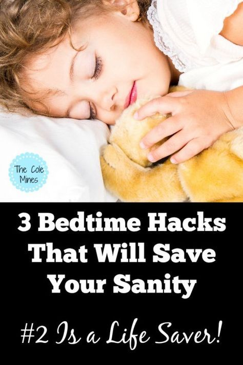 3 Bedtime Hacks That Will Save Your Sanity