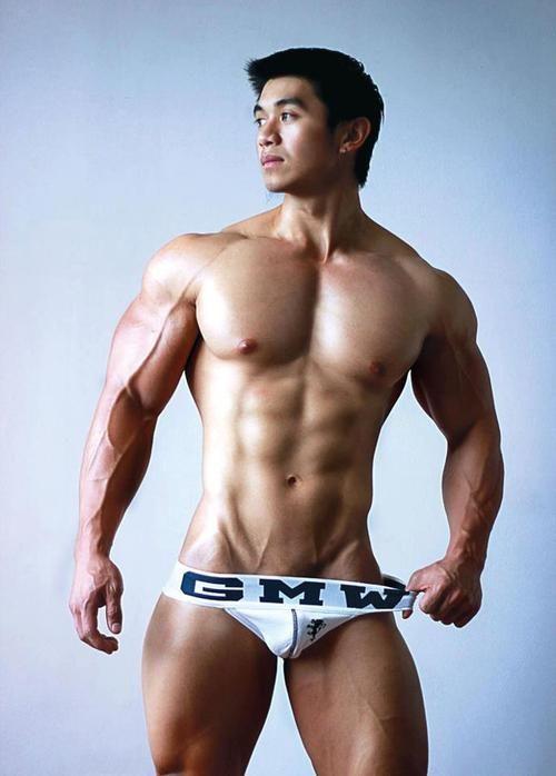 Asian boy hunk