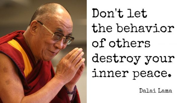 7 Inspirational Quotes From The Dalai Lama About True Peace Inner Peace Dalai Lama Inspirational Quotes