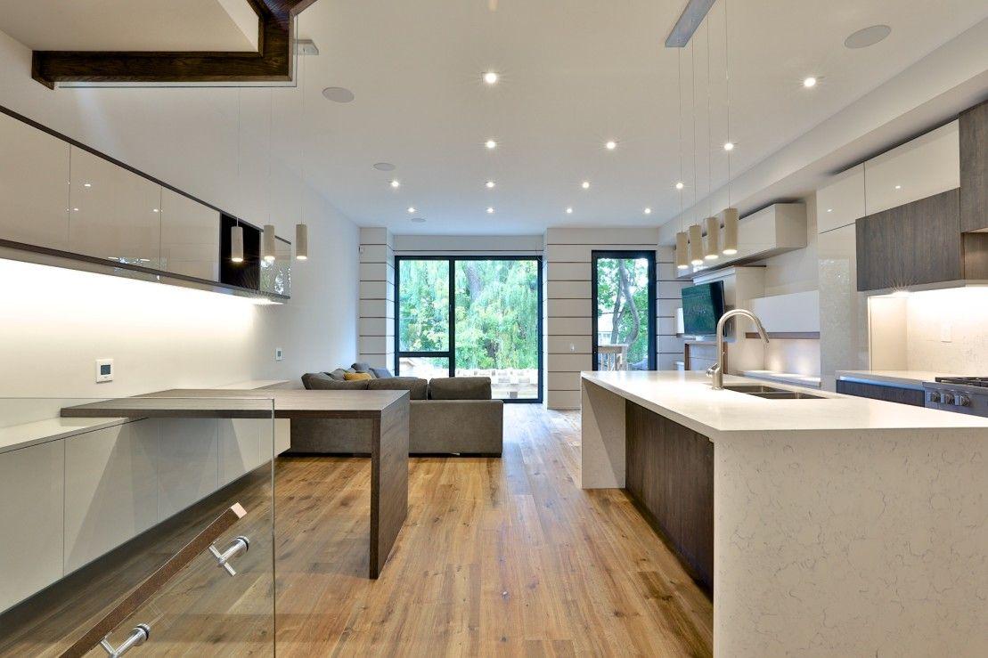 Wanless Avenue Contemporary Kitchen Contemporary Kitchen Renovation Design Kitchen And Bath