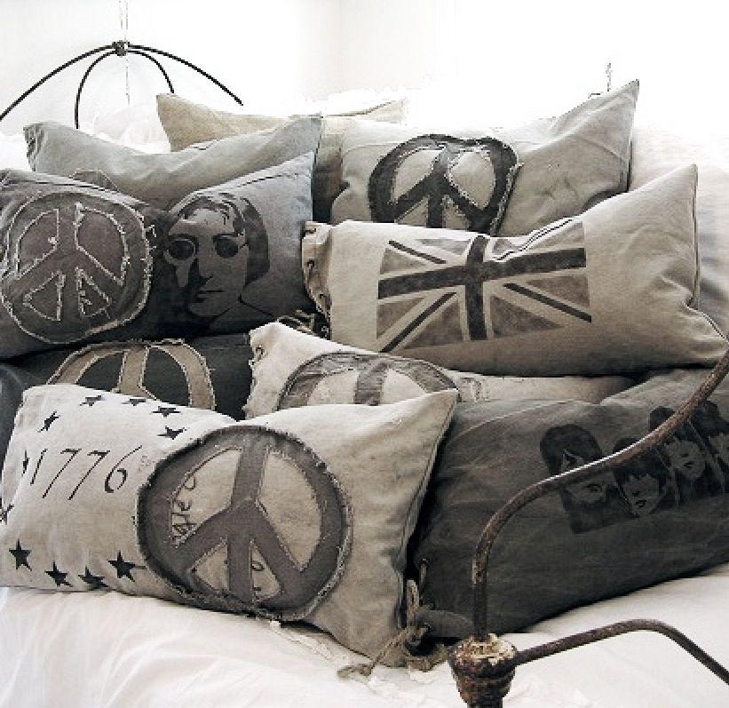 great pillows h kln strickn pinterest kissen deko und n hen. Black Bedroom Furniture Sets. Home Design Ideas