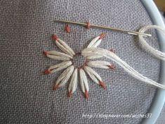 끝물들인 꽃자수 : 네이버 블로그 #embroidery