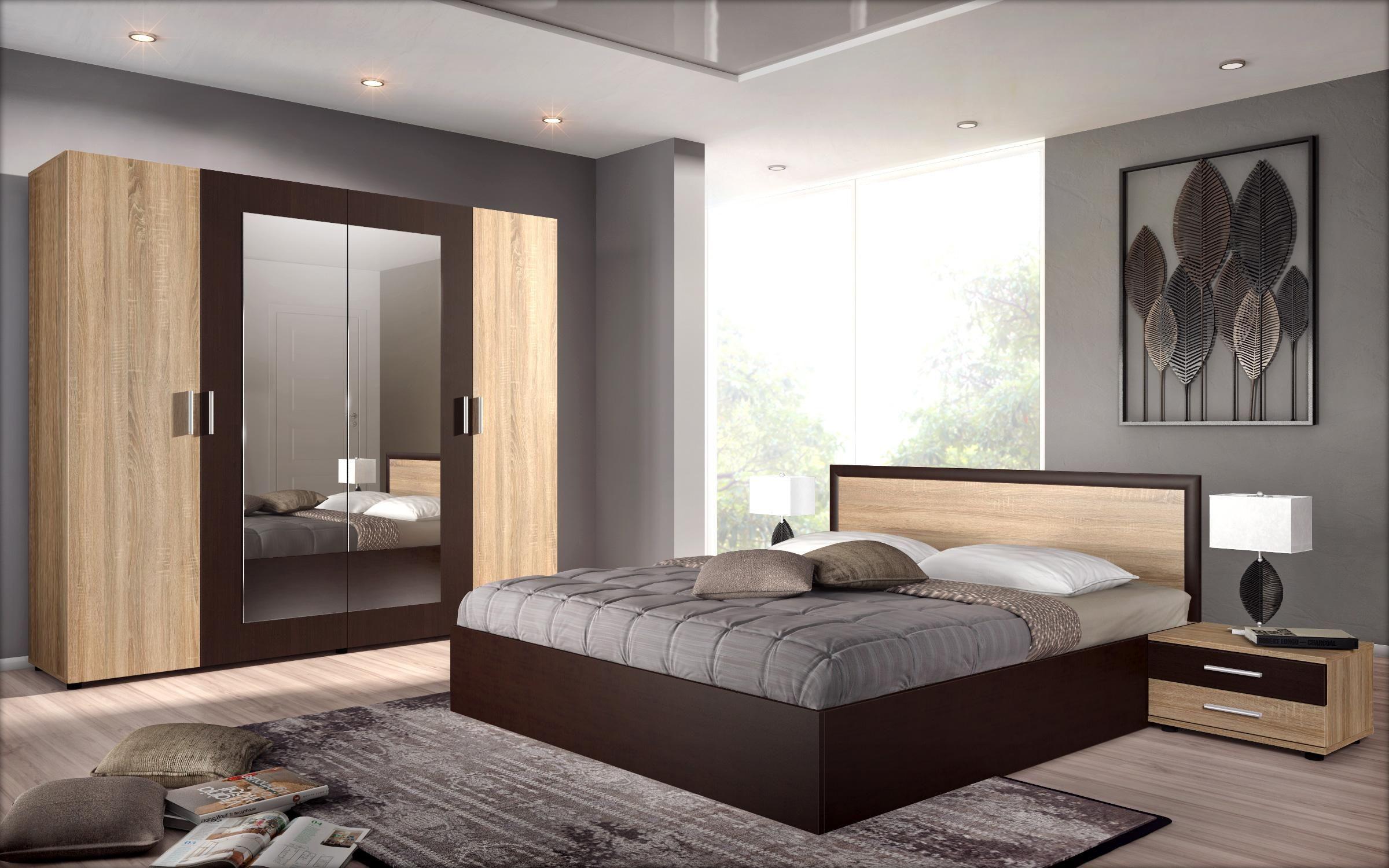Спален комплект Порто за матрак 160/200 Мебели Виденов