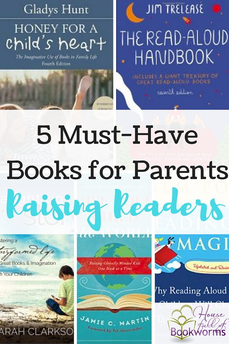 Summer is a great time to do a little extra reading. So, I've come up with a little reading list for parents who are raising readers.
