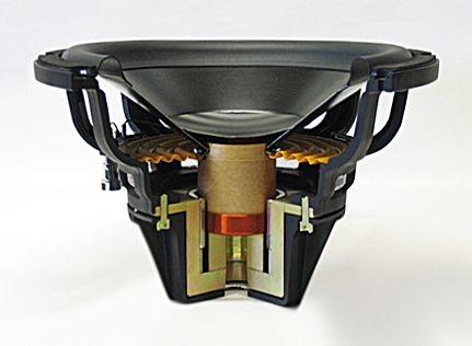 Bass unit of the Legacy Focus SE Loudspeaker Design