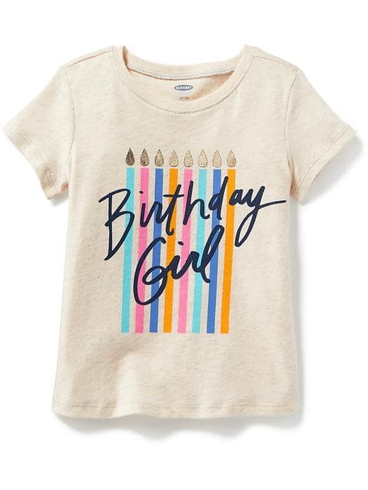 dc760273 Birthday graphic across front graphics and colors vary ? Toddler Girl  Outfits, Maternity Wear, Shirts For ...