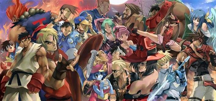 Anime Montage 1 Street Fighter Wallpaper Street Fighter Street