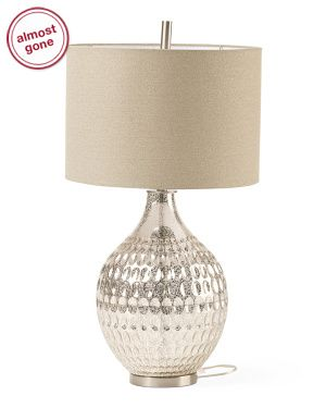 Large Bubble Glass Table Lamp