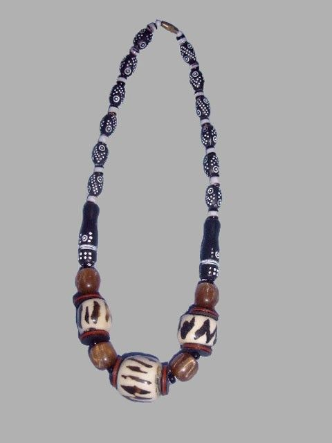 african necklace designer d simple yet elegant looking graduating size african traditional bead
