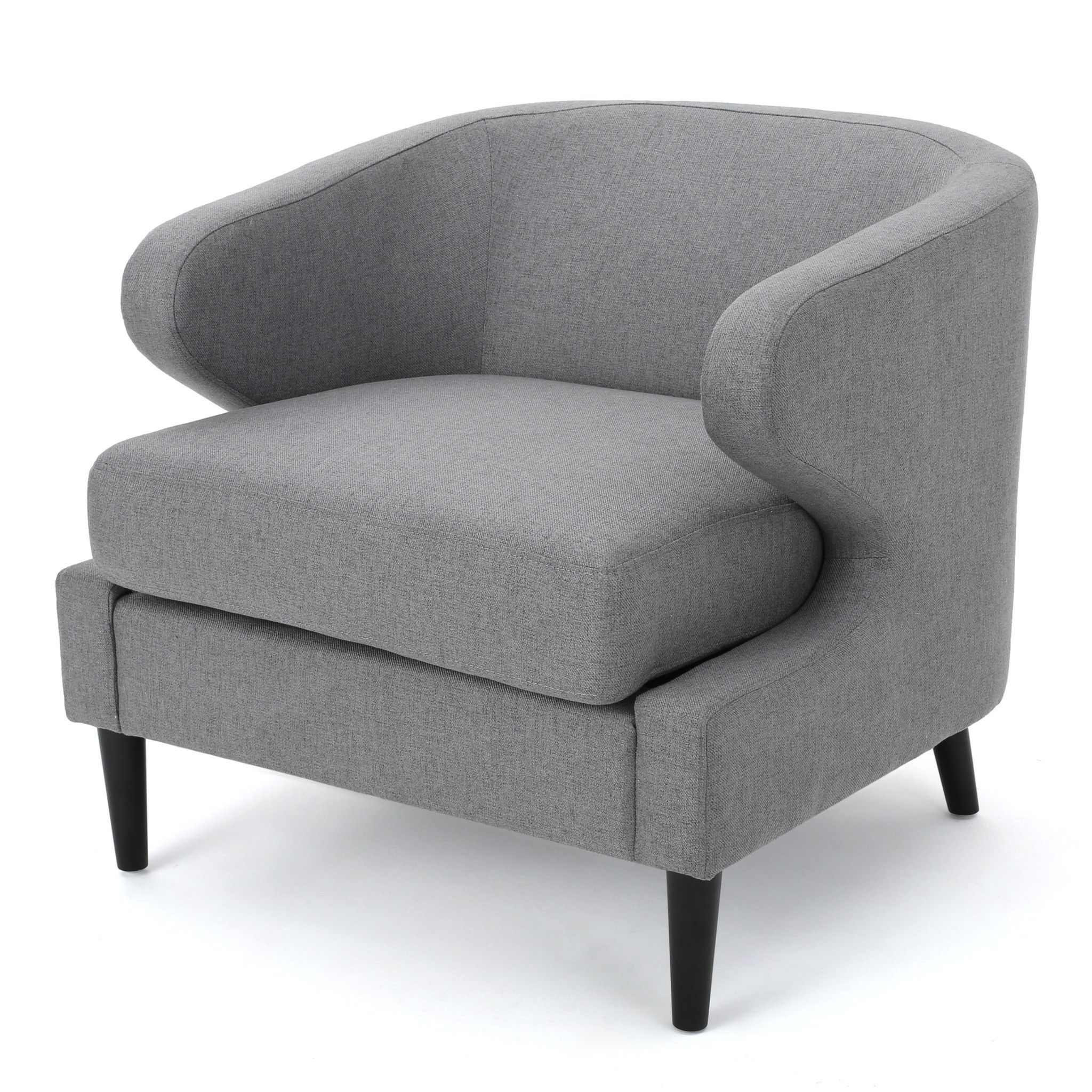 Nuage Decorative Modern Fabric Accent Chair Upholstered Accent