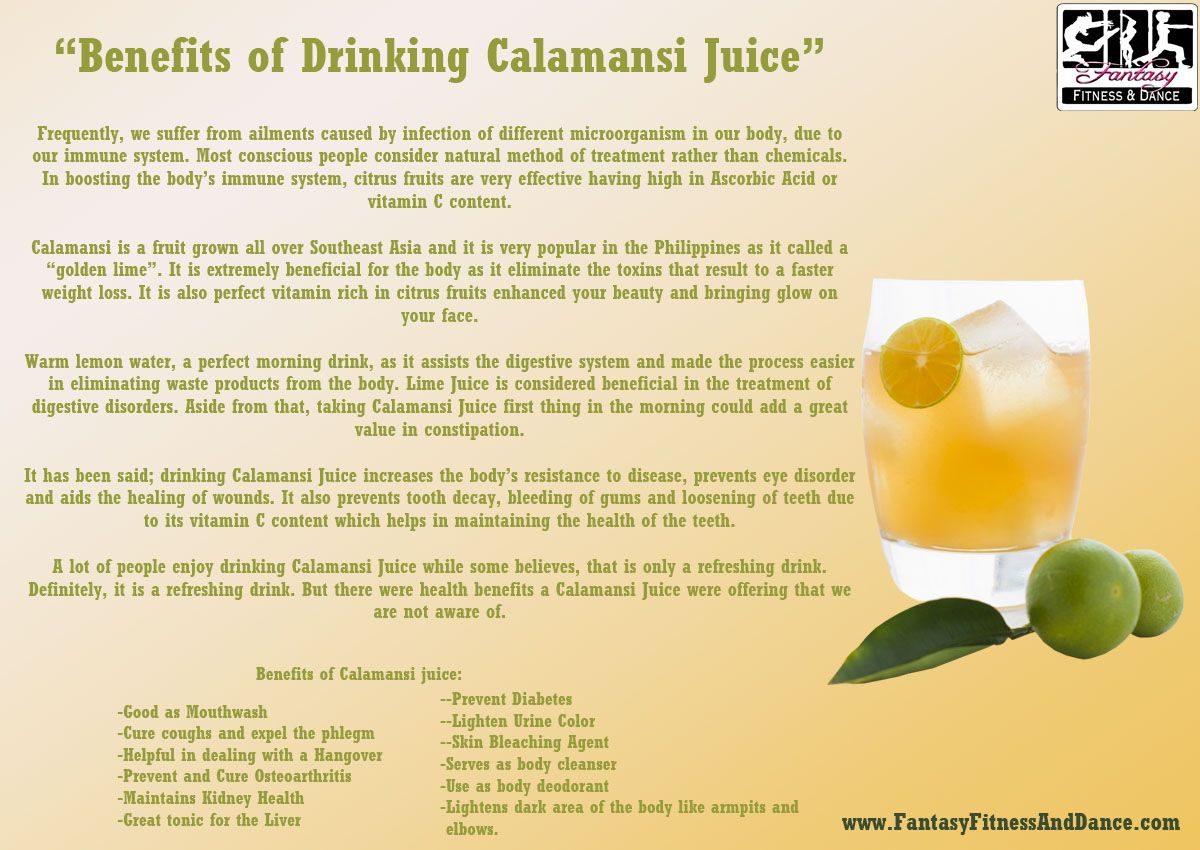 benefits of drinking calamansi juice | benefits of organic