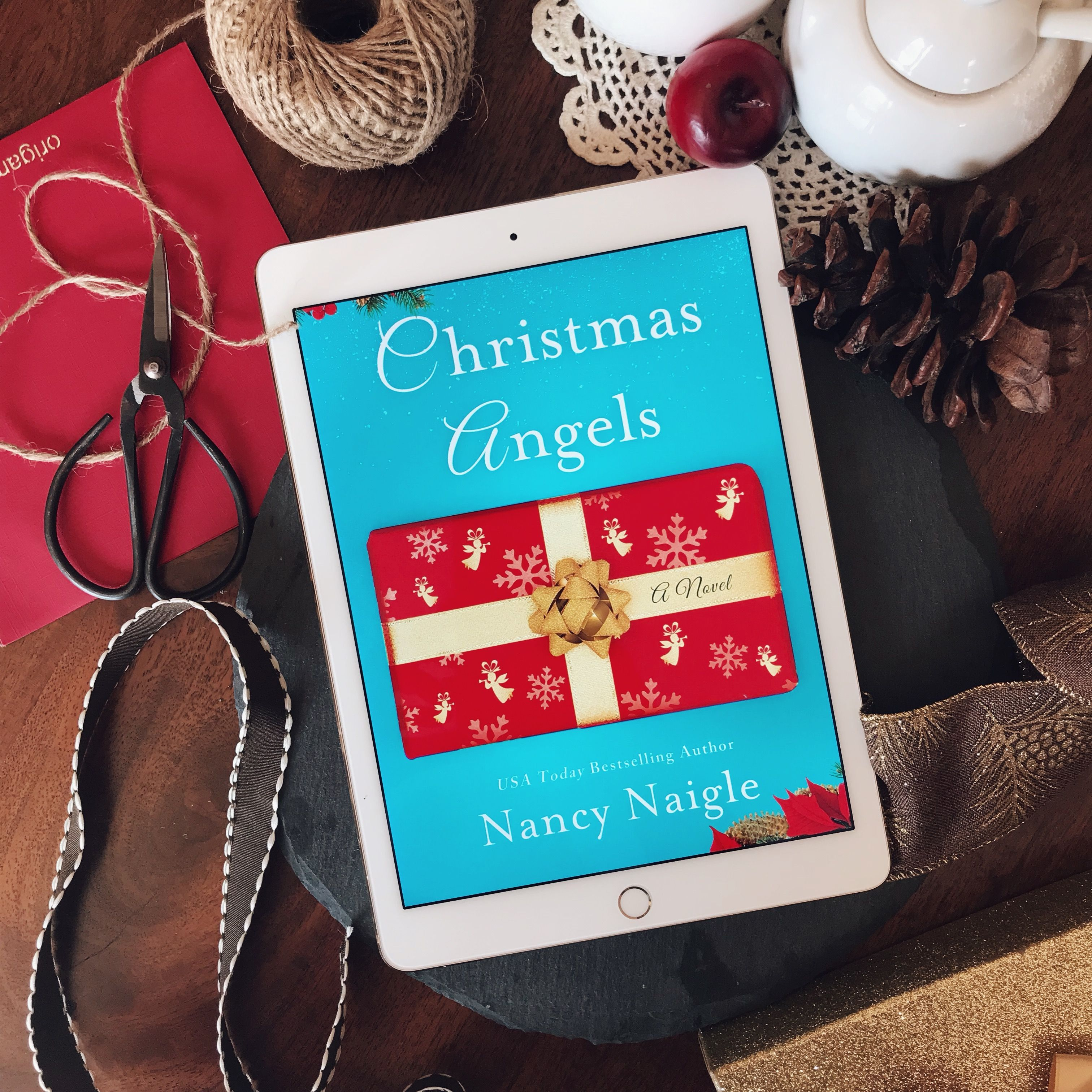 Christmas angels by nancy naigle book review christmas