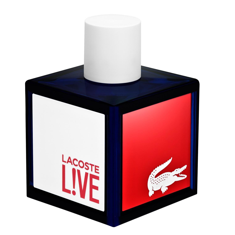 Paris Gallery Lacoste Lacoste Live Edt 100ml Fragrance Samples Mens Fragrance Fragrance