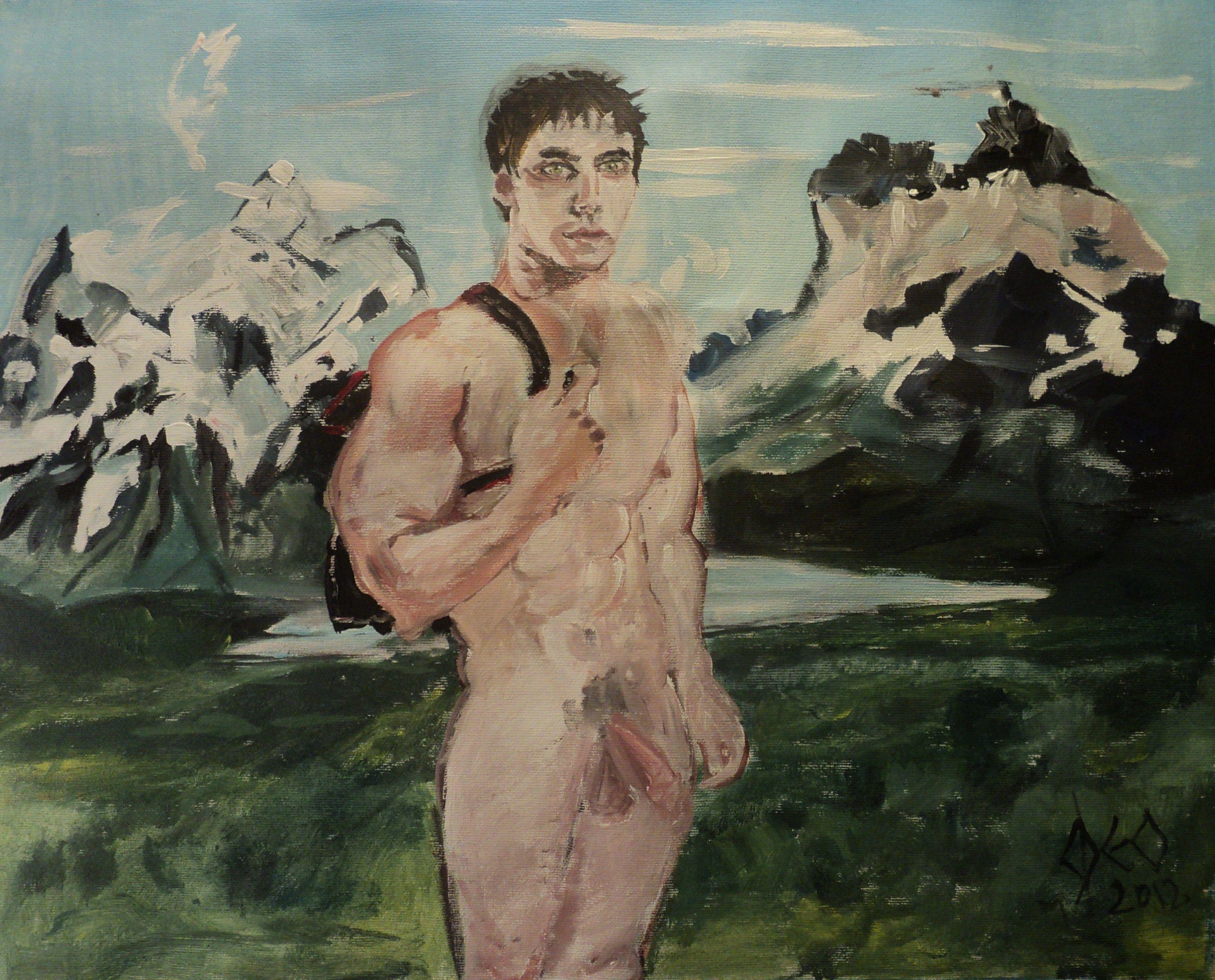 CG-010 - Le petit Berger des Andes par Cyril Georget ( 40 wide x 29 cm tall ~ 11.75 x 16.25 ) - No 05 de la série Les hombres libres - print 2 of 100 - 01-12-2012