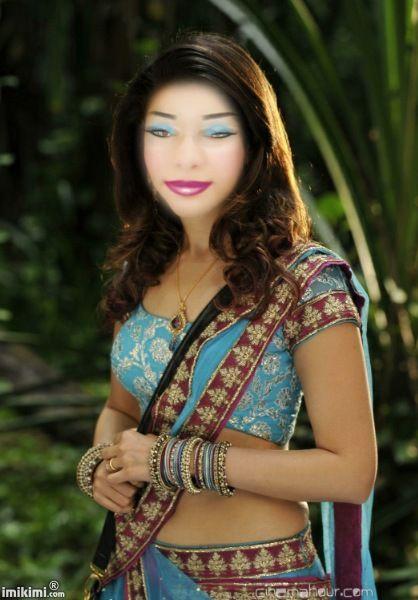 Sexy indian saree girls