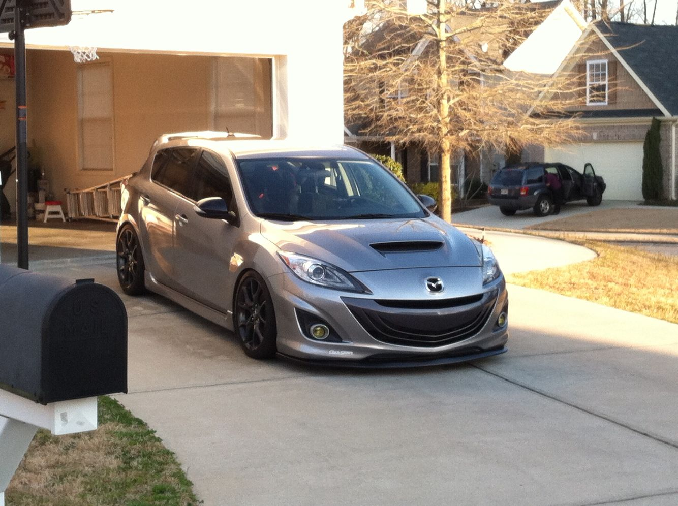 Ms3 H Amp R Coilovers 15mm Spacers Sti Limited 06 07 Front Lip Mazdaspeed 3 Pinterest Lips