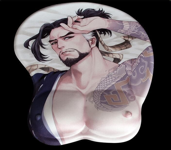 Game Ow Overwatch Hanzou Hanzo 3d Mouse Pad Play Mat Mousepad