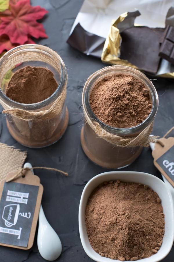 Dairy And Sugar Free Hot Chocolate Mix Recipe Hot Chocolate Mix Sugar Free Hot Chocolate Hot Chocolate Mix Recipe