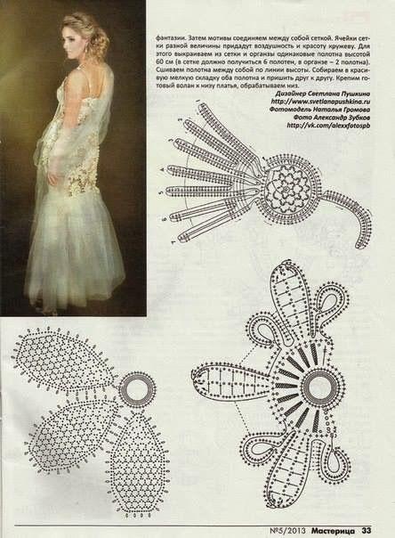 Letras e Artes da Lalá: Crochê irlandês: blusa