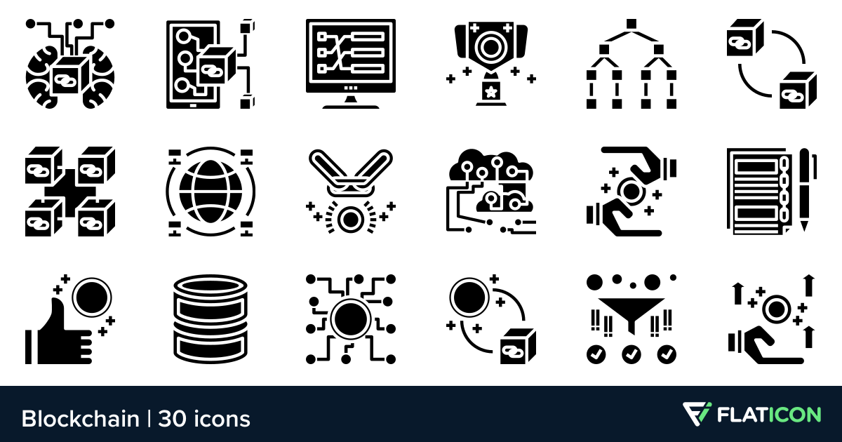 30 Free Vector Icons Of Blockchain Designed By Phatplus Icon Blockchain Vector Icons