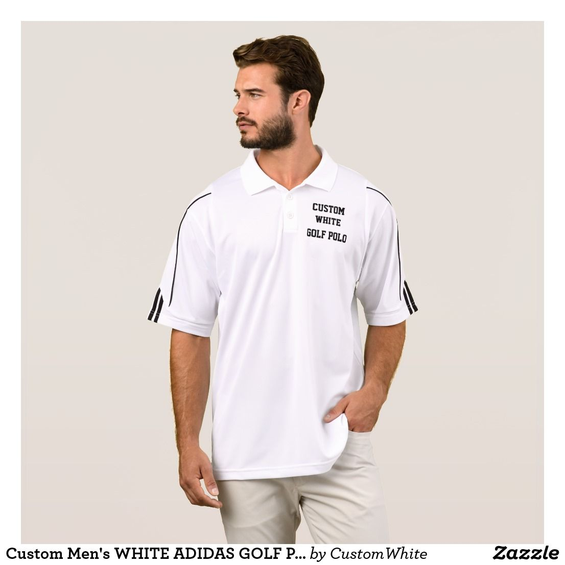 Adidas Custom Logo Polo Shirts