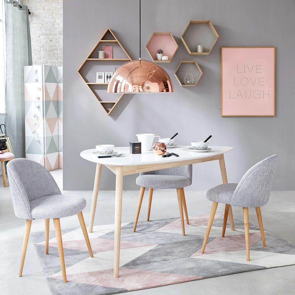 teppich aus stoff mit geometrischen motiven 140x200cm teppich pinterest wohnzimmer. Black Bedroom Furniture Sets. Home Design Ideas