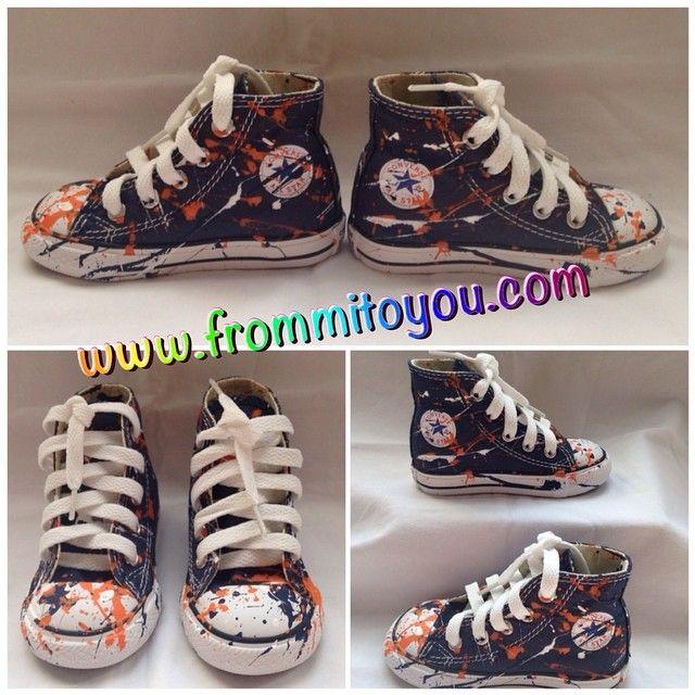 Custom Splatter paint Converse Chuck Taylor All Star. Theme